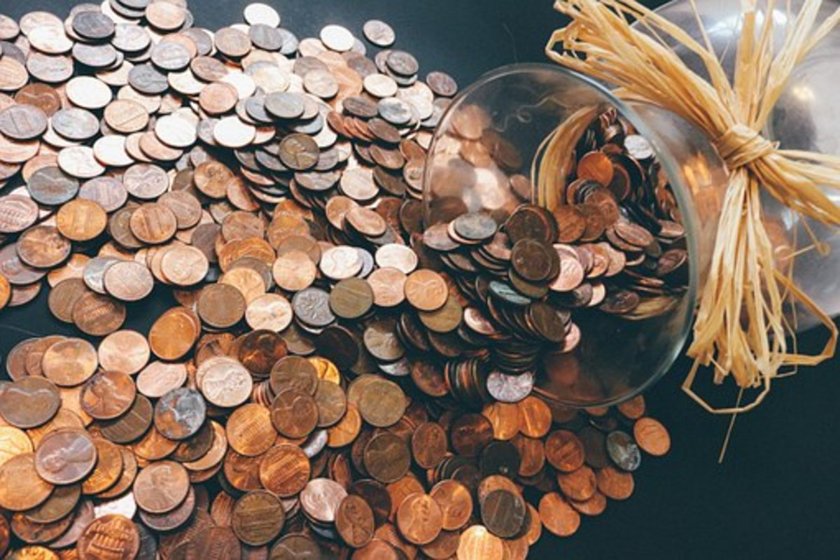 Copper coins have health benefits