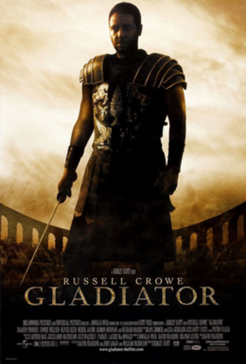Gladiator Theatrical Release Poster