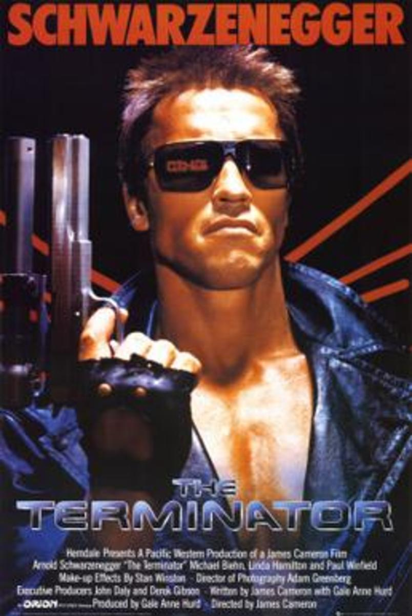 Terminator theatrical release poster.