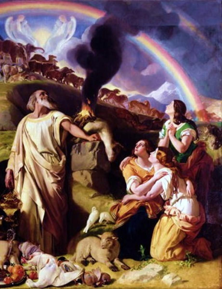 Noah's Sacrifice by Daniel Maclise 1847-53