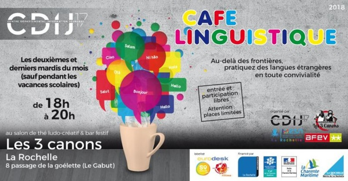 An example of a linguistic café.