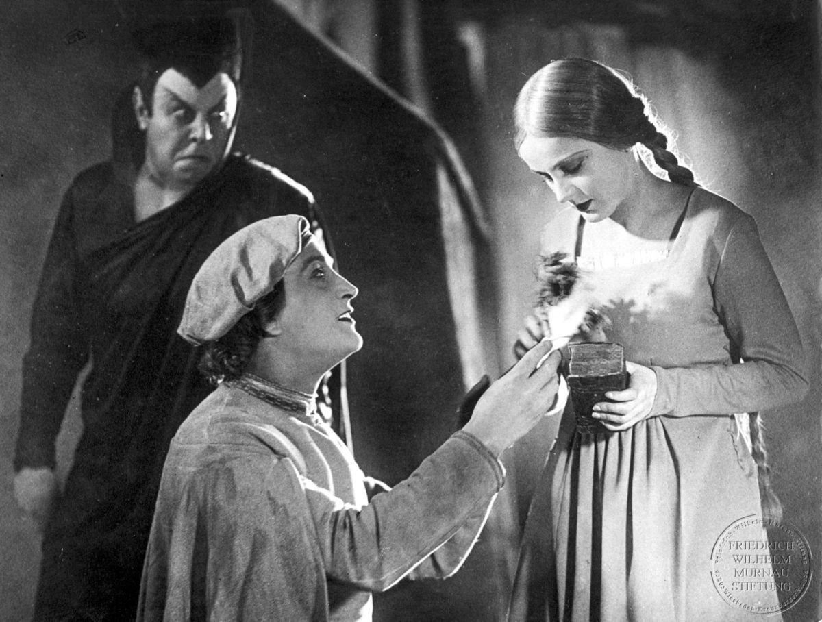 A SCENE FROM THE MOTION PICTURE 'FAUST'