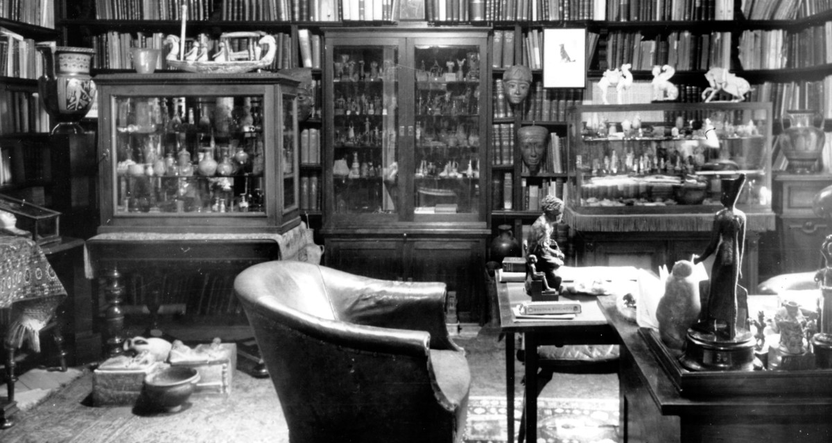 FREUD'S OFFICE: WHERE HE WORKED SURROUNDED BY DEMON GODS