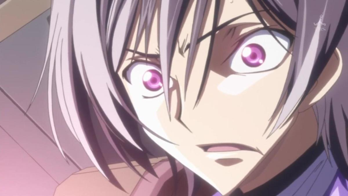 Lelouch during battle.