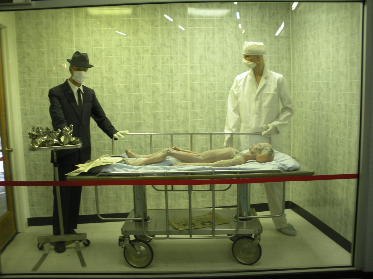 Purported alien autopsy