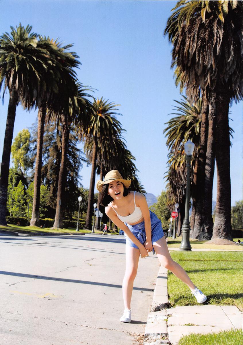 Jurina Matsui in Beverly Hills, California.