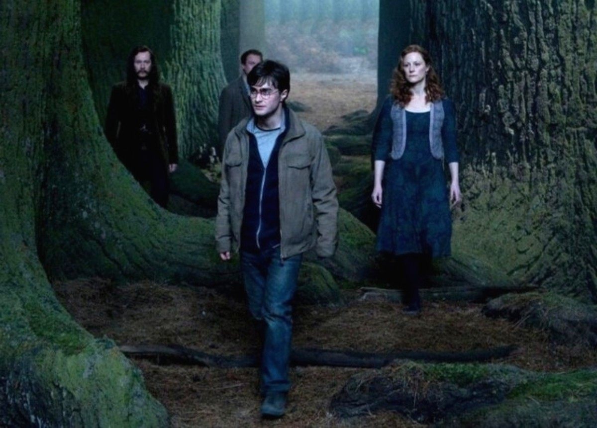 Harry, with the people resurrected by the Stone.
