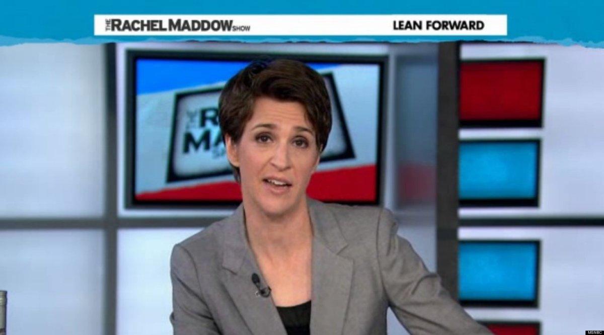 Rachel Maddow DISTRACTING