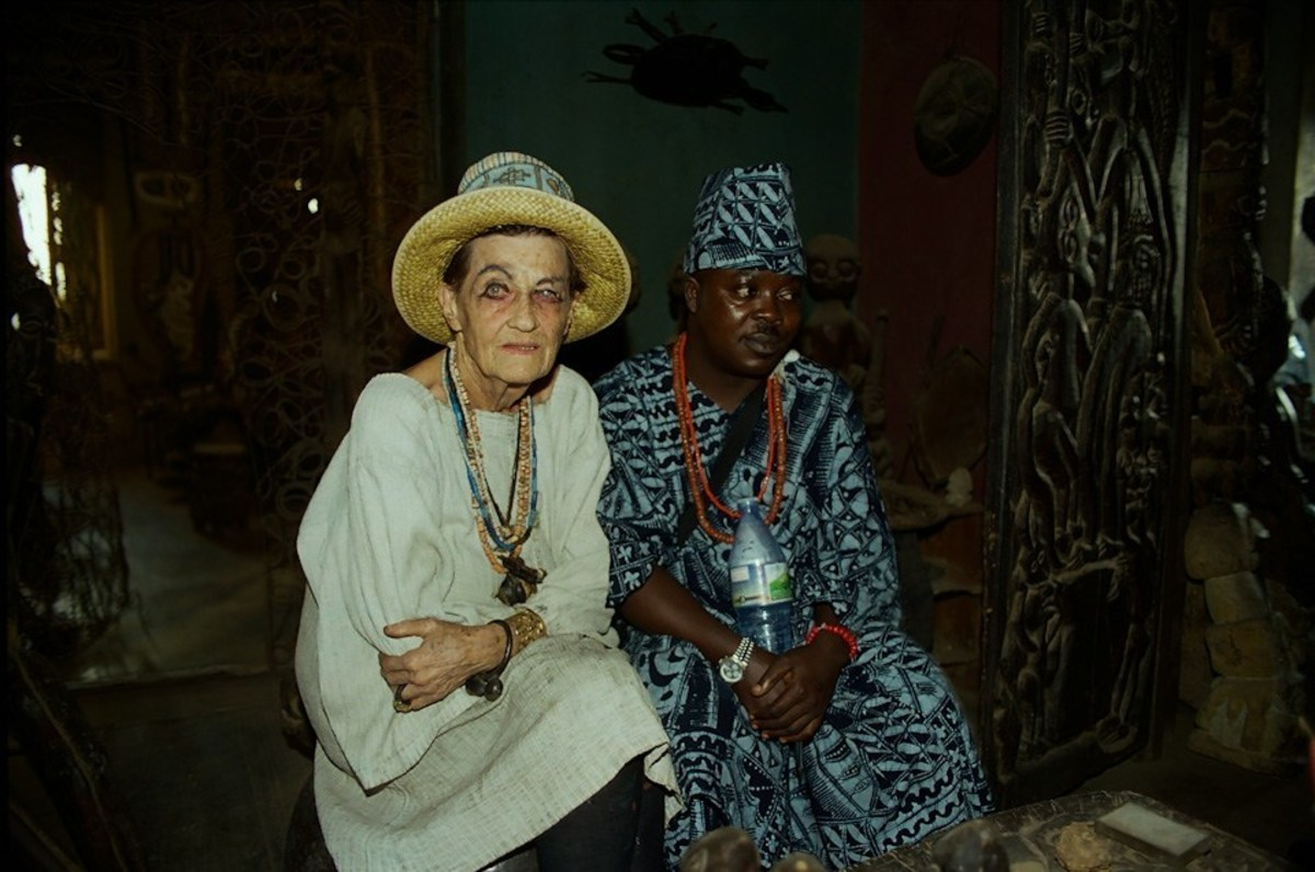 Susanne Wenger - The Austrian artist turned Osun priestess