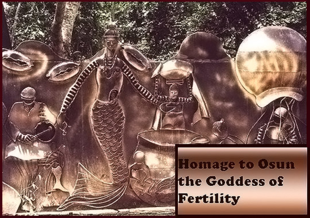 Homage to Osun the Goddess of Fertility