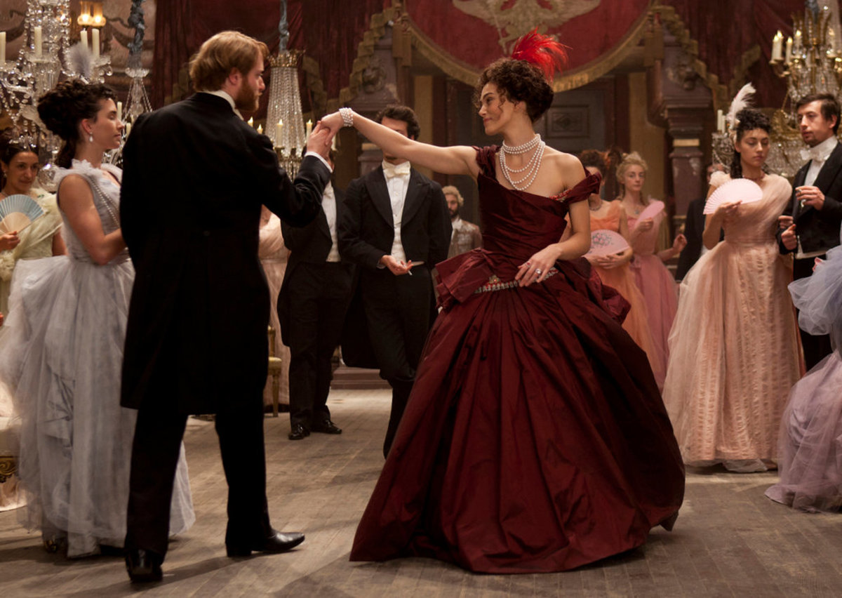 A Film adaptation of the novel Anna Karenina, released in 2012.