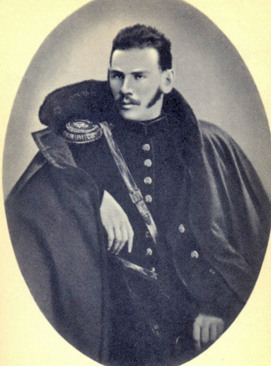 Leo Tolstoy during his army years