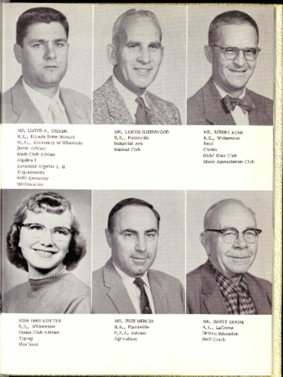 Mr. Geiken with other teachers.