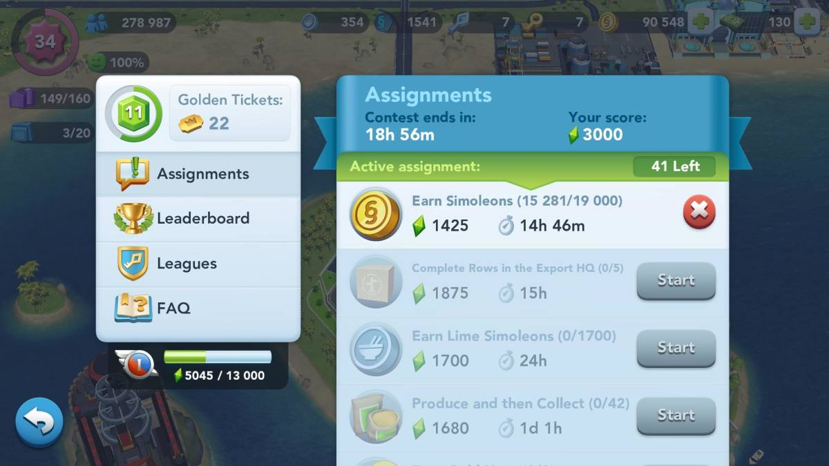 Assignments in the Contest of Mayors