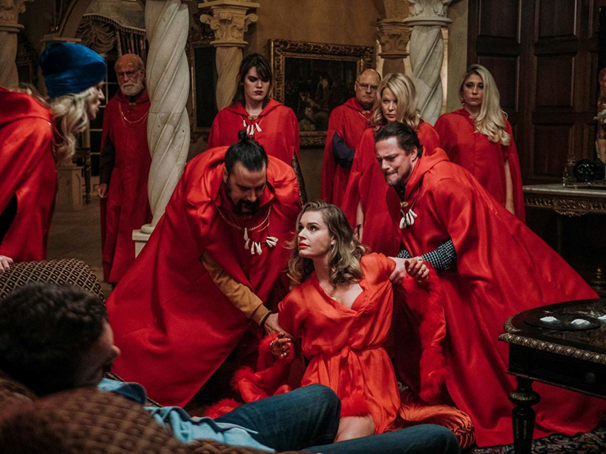 A discount on red robes if you buy in bulk. They're a hassle to wash, though.