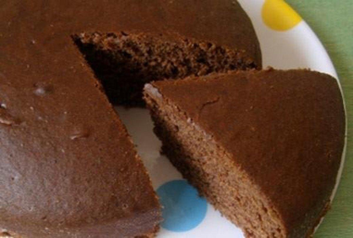 Eggless Chocolate Cake Recipe at Home