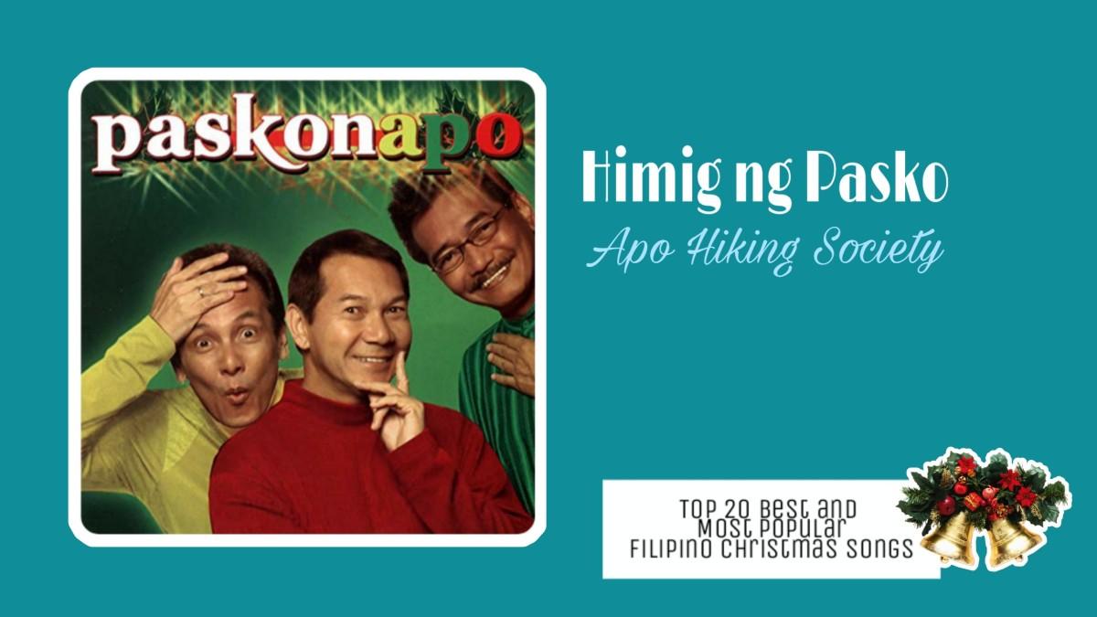 Himig ng Pasko by Apo Hiking Society   Filipino Christmas Songs