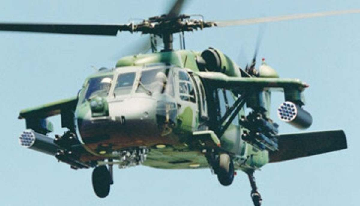 The modified Black Hawk MH-60 is the closest the West could get to the Hind.