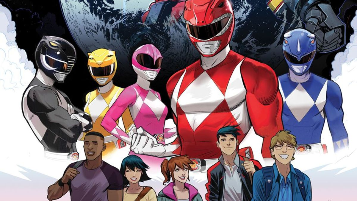 Go Go Power Rangers: Arrival Day (Boom! Studios series) Review