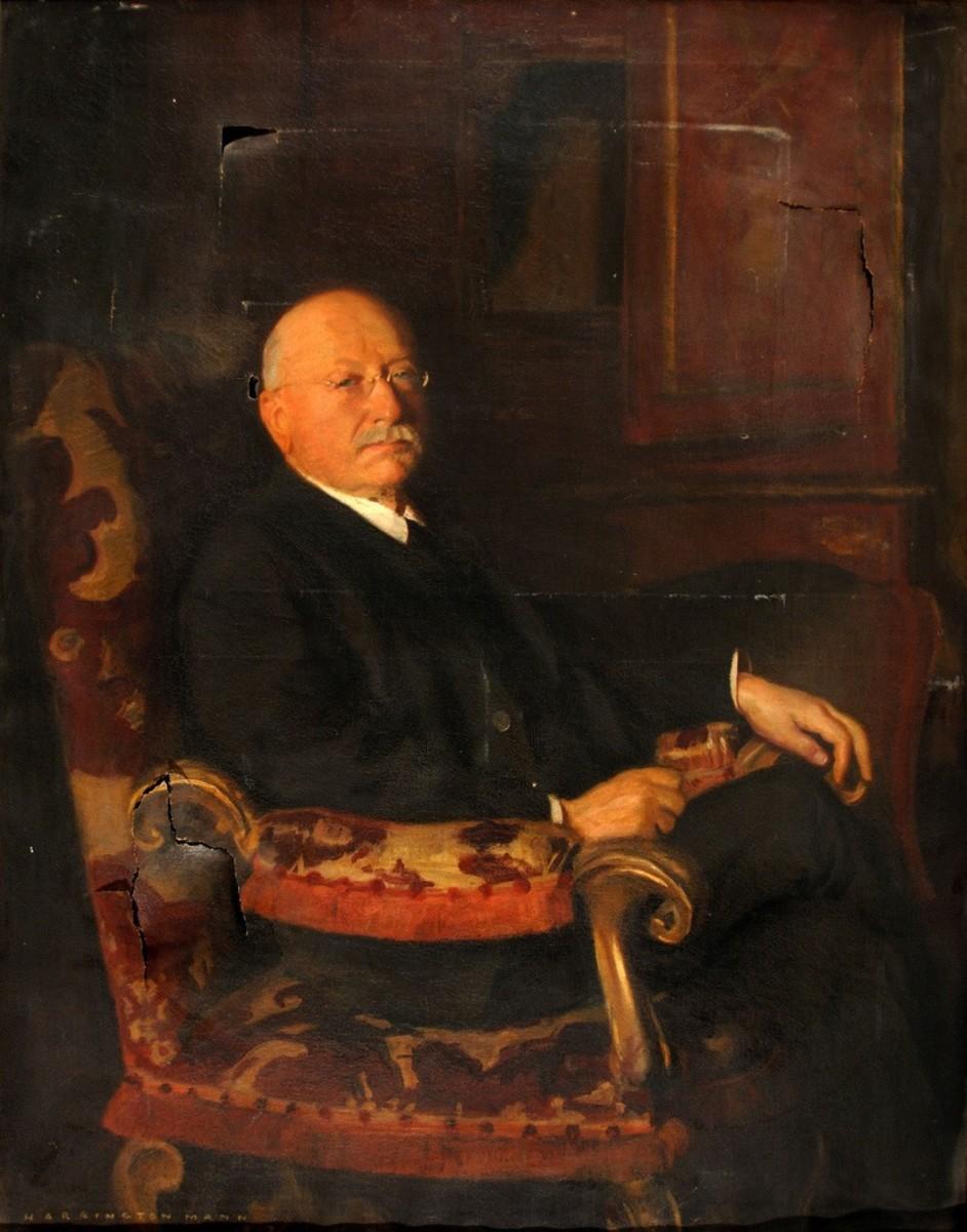 Portrait of Adolf Lewisohn by Harrington Mann