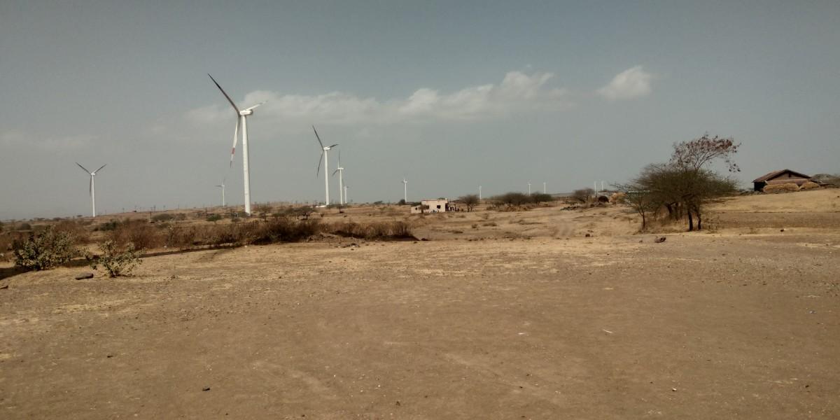 Windmills near Sinnar - Summer Road trip