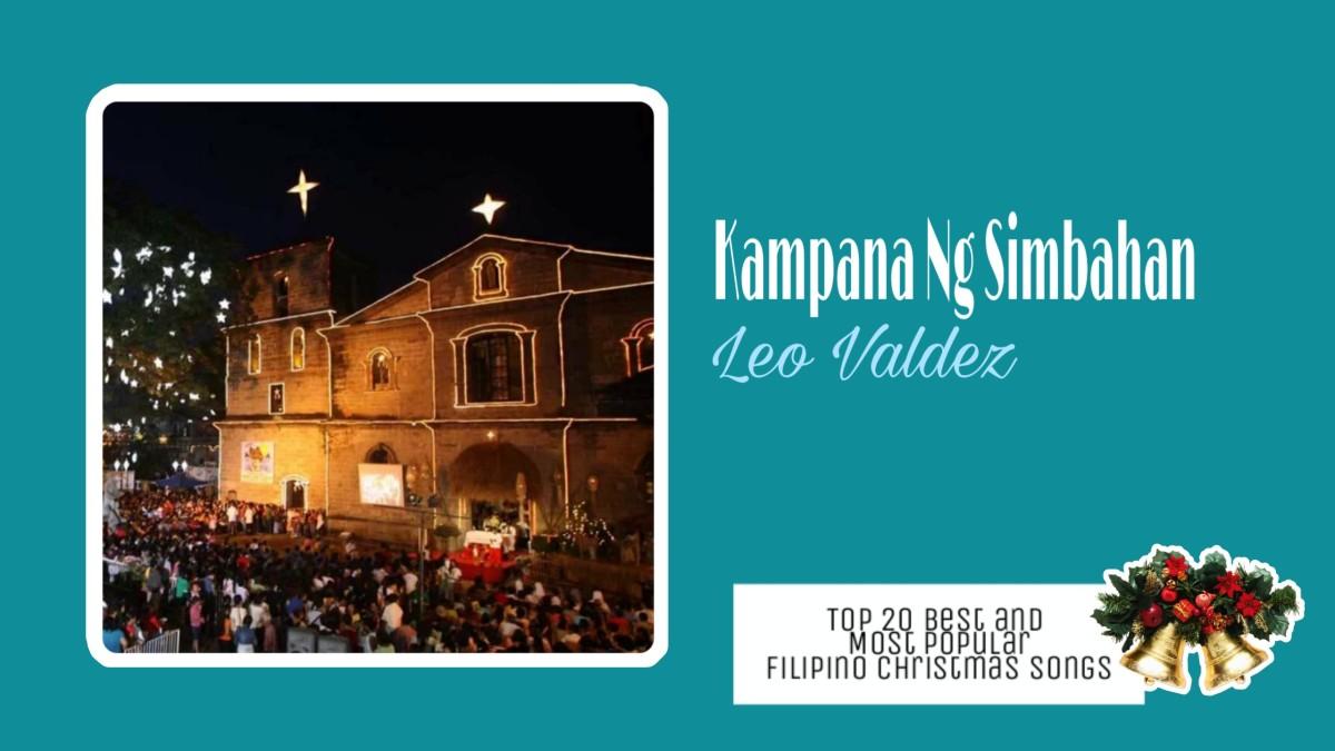 Kampana ng Simbahan by Leo Valdez   Filipino Christmas Songs