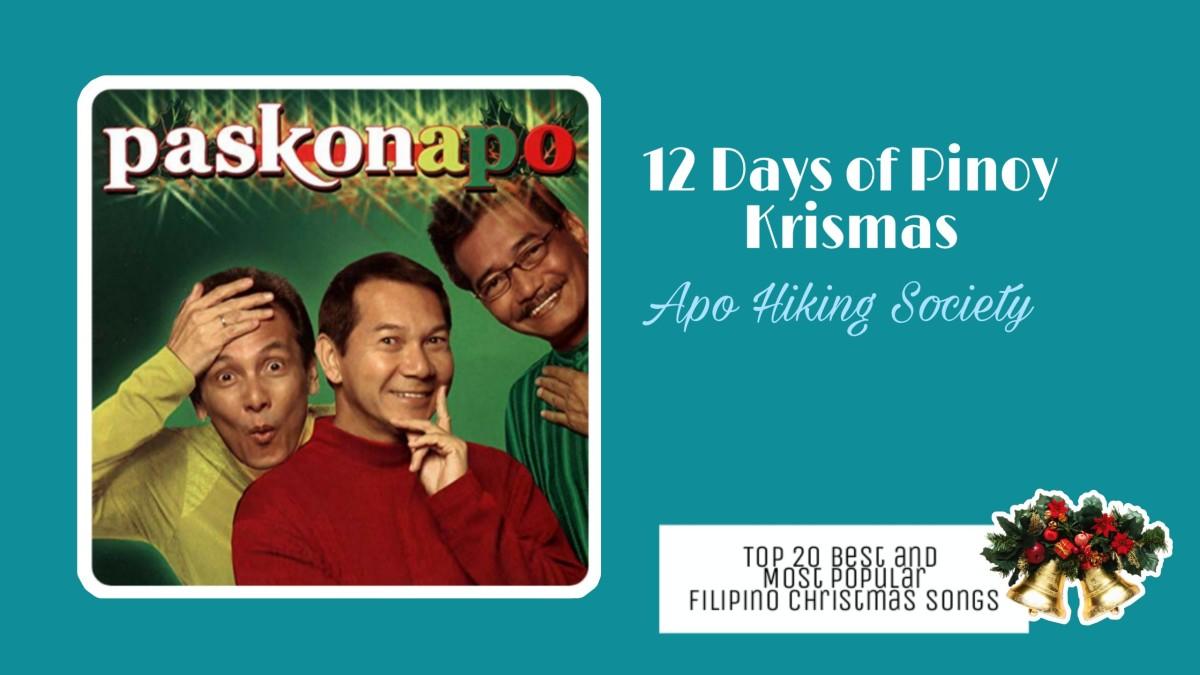 12 Days of Pinoy Christmas by Apo Hiking Society   Filipino Christmas Songs