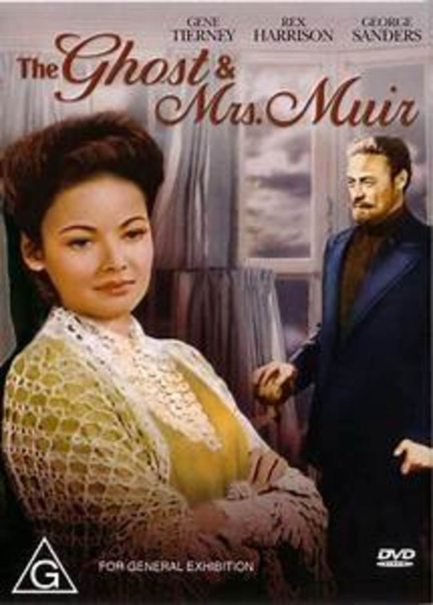 The Haunting Romance of the the Ghost and Mrs. Muir