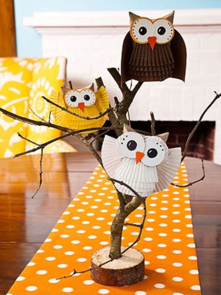 Give a Hoot Owl Craft