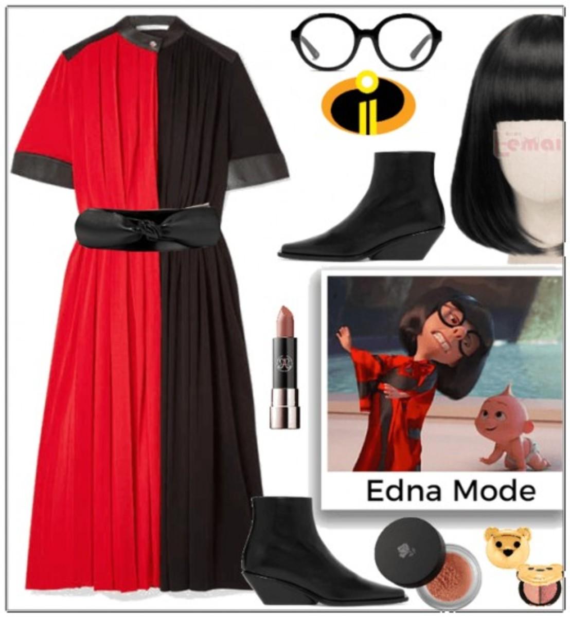 Edna in  Fashion Mode