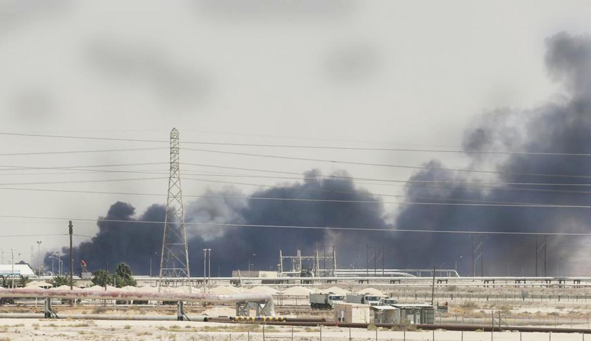 Attack on Saudi Aramco oil facilities