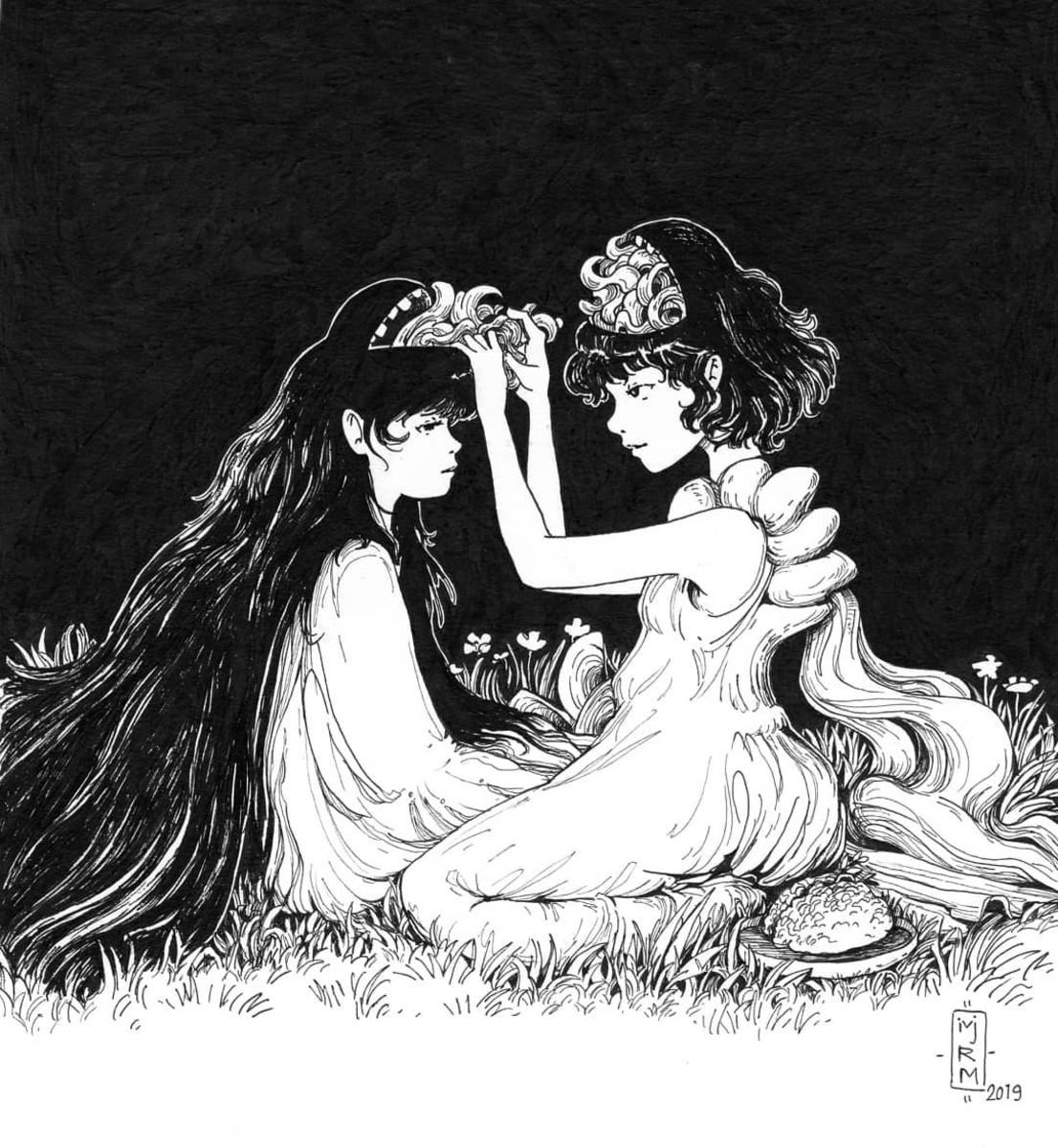 "© ""Mindless"" | an illustration by Maryam Rahati (iVjrm)"