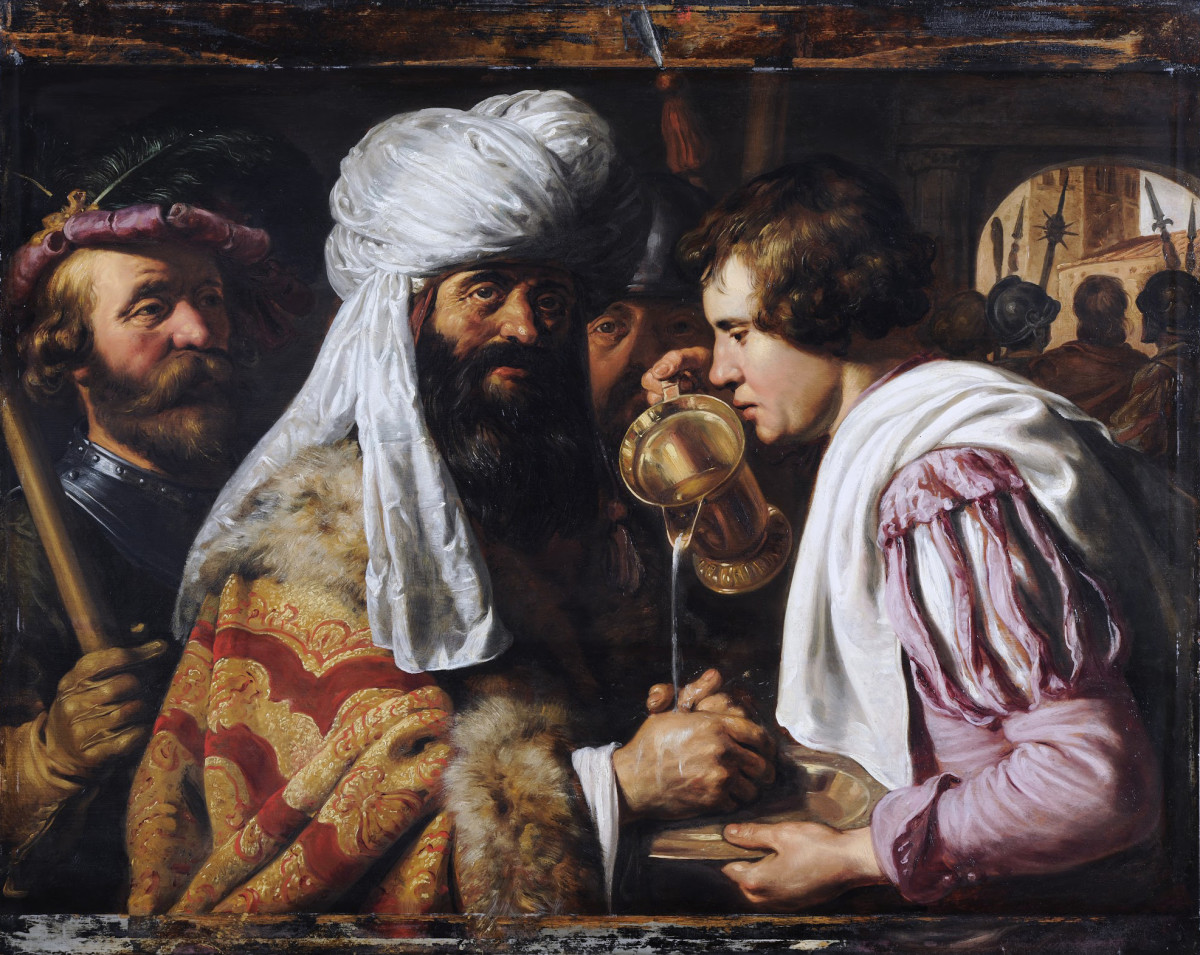 Pilate Washing his Hands, by Jan Lievens.