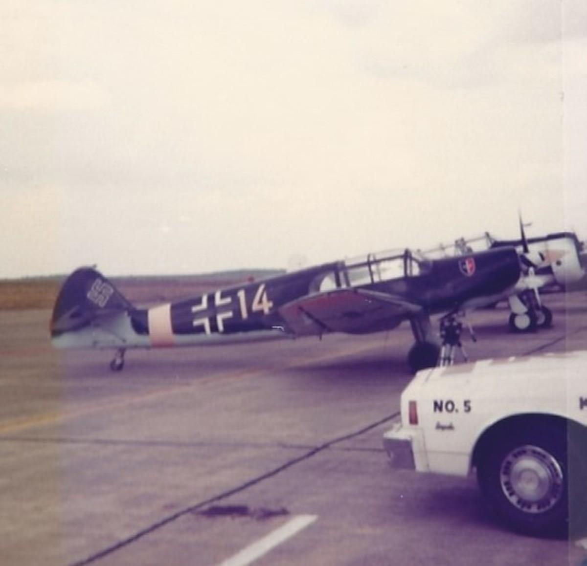 The Bf 108 Taifun