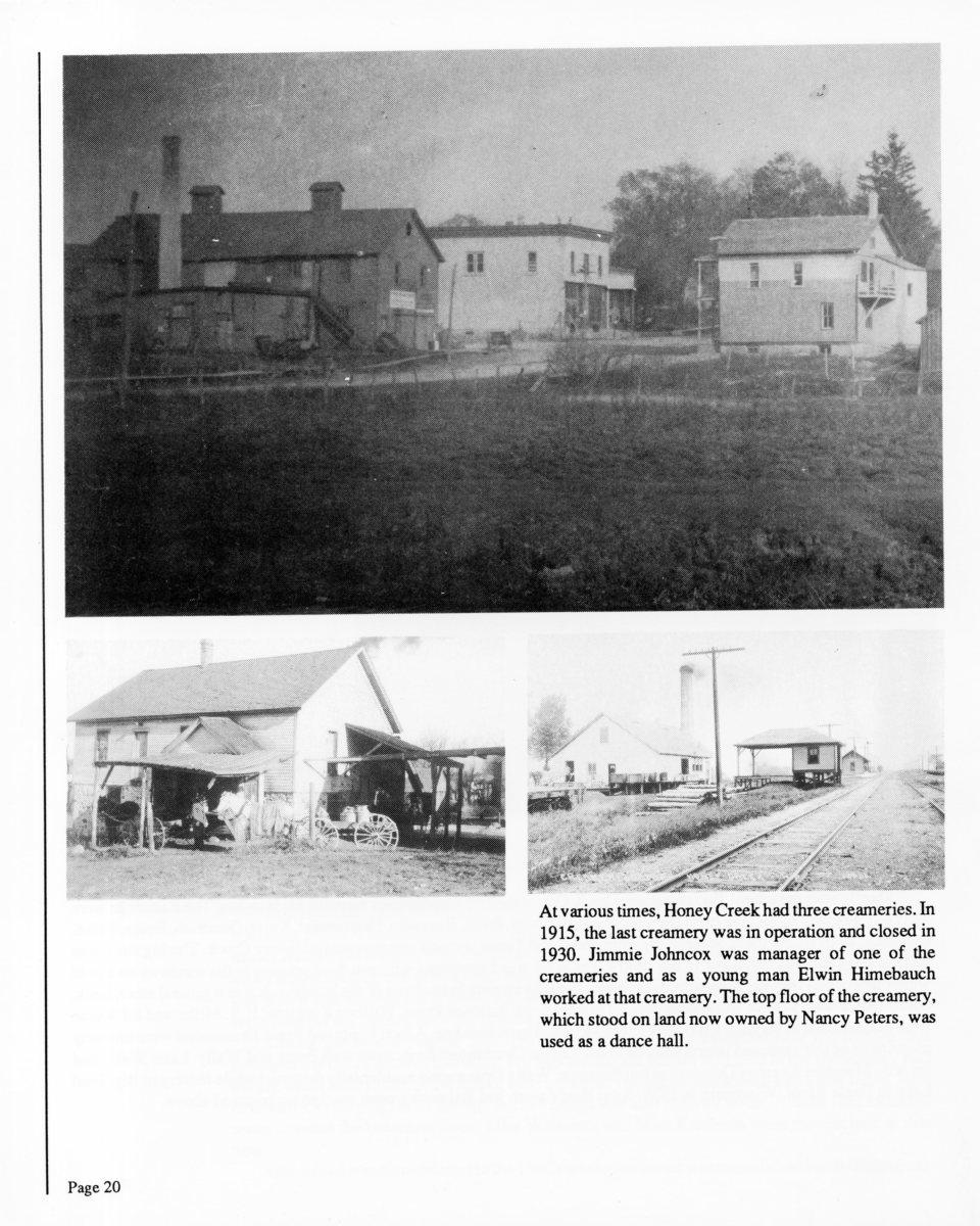 history-of-honey-creek-wisconsin