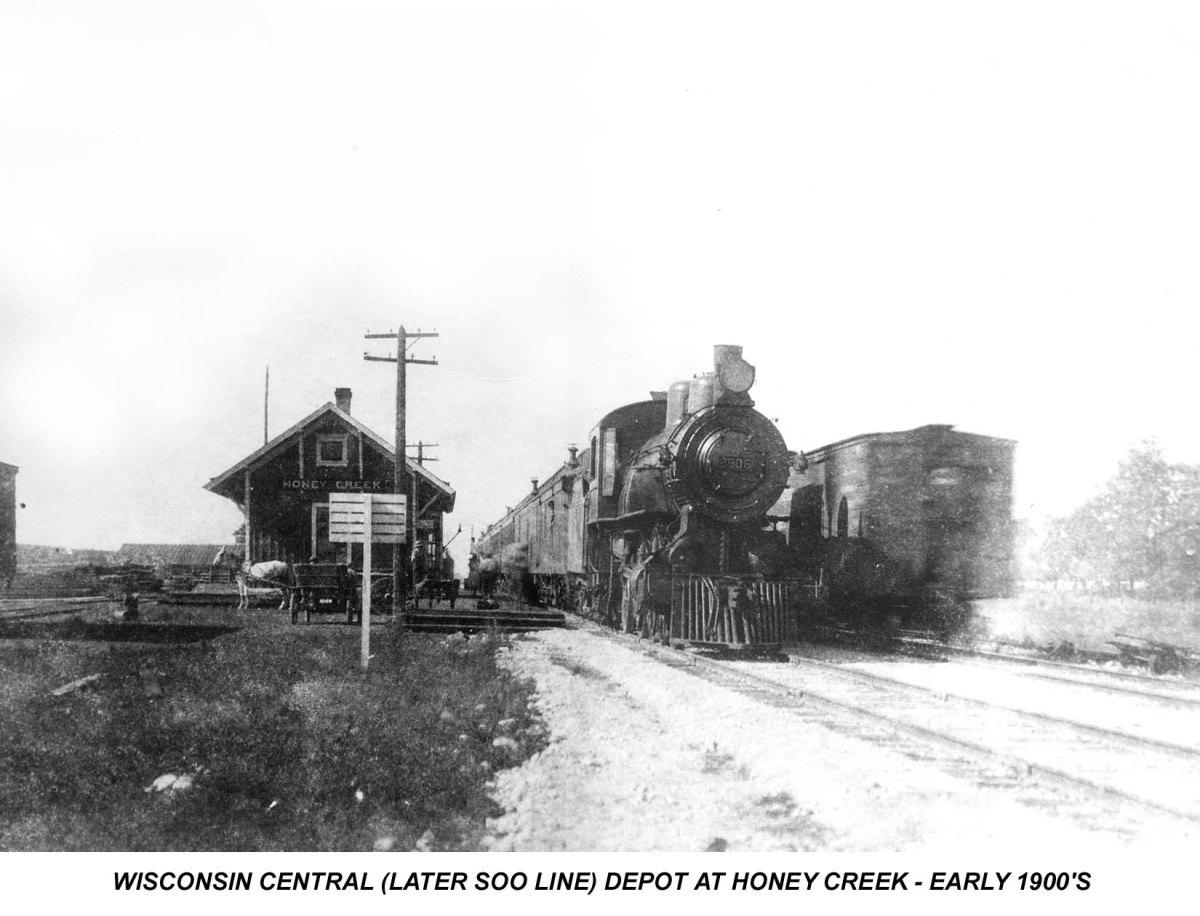 History of Honey Creek, Wisconsin