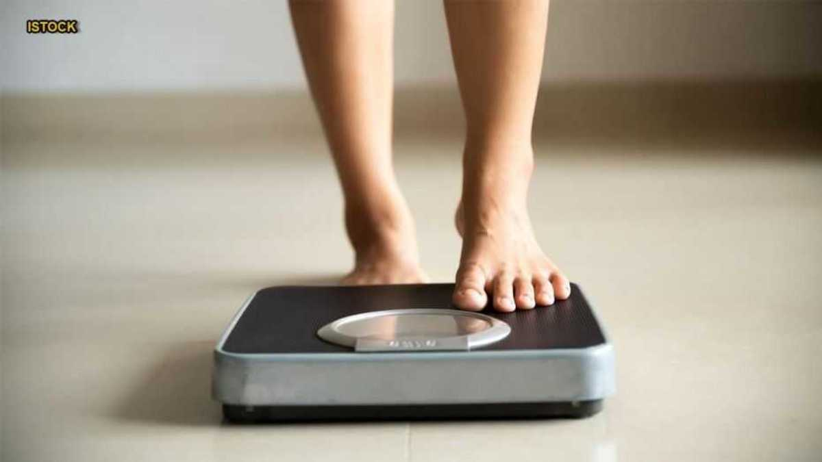 Fasting: weight measurement