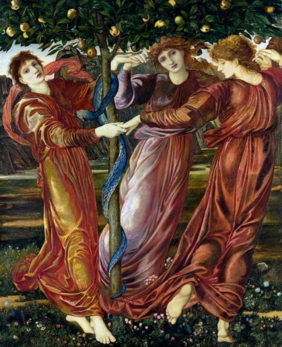 The Garden of the Hesperides, Edward Burne-Jones, circa 1869-73.