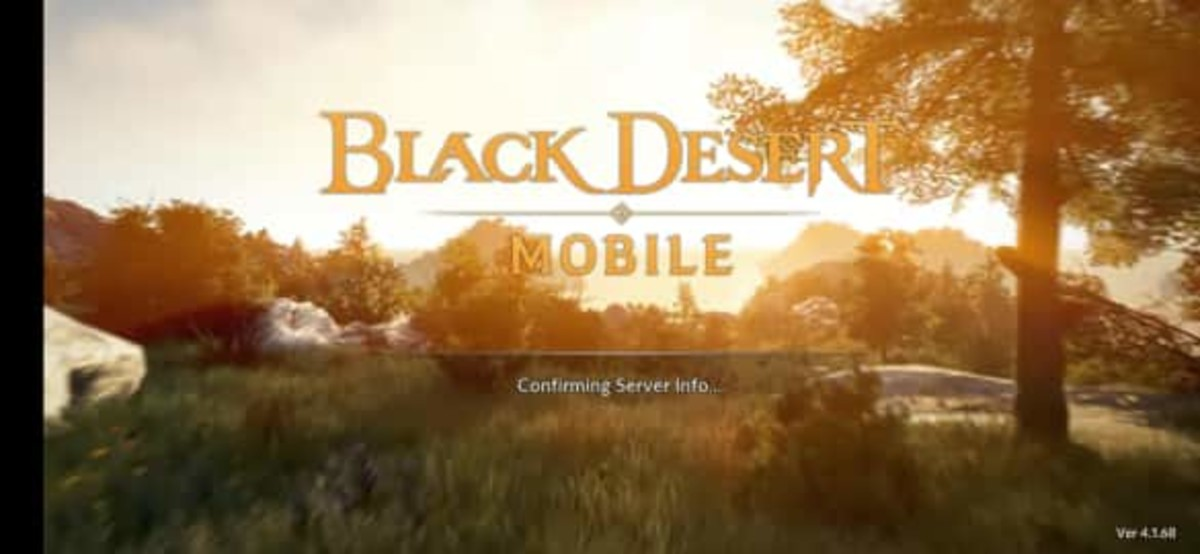 """Black Desert Online Mobile"" Login Screen"