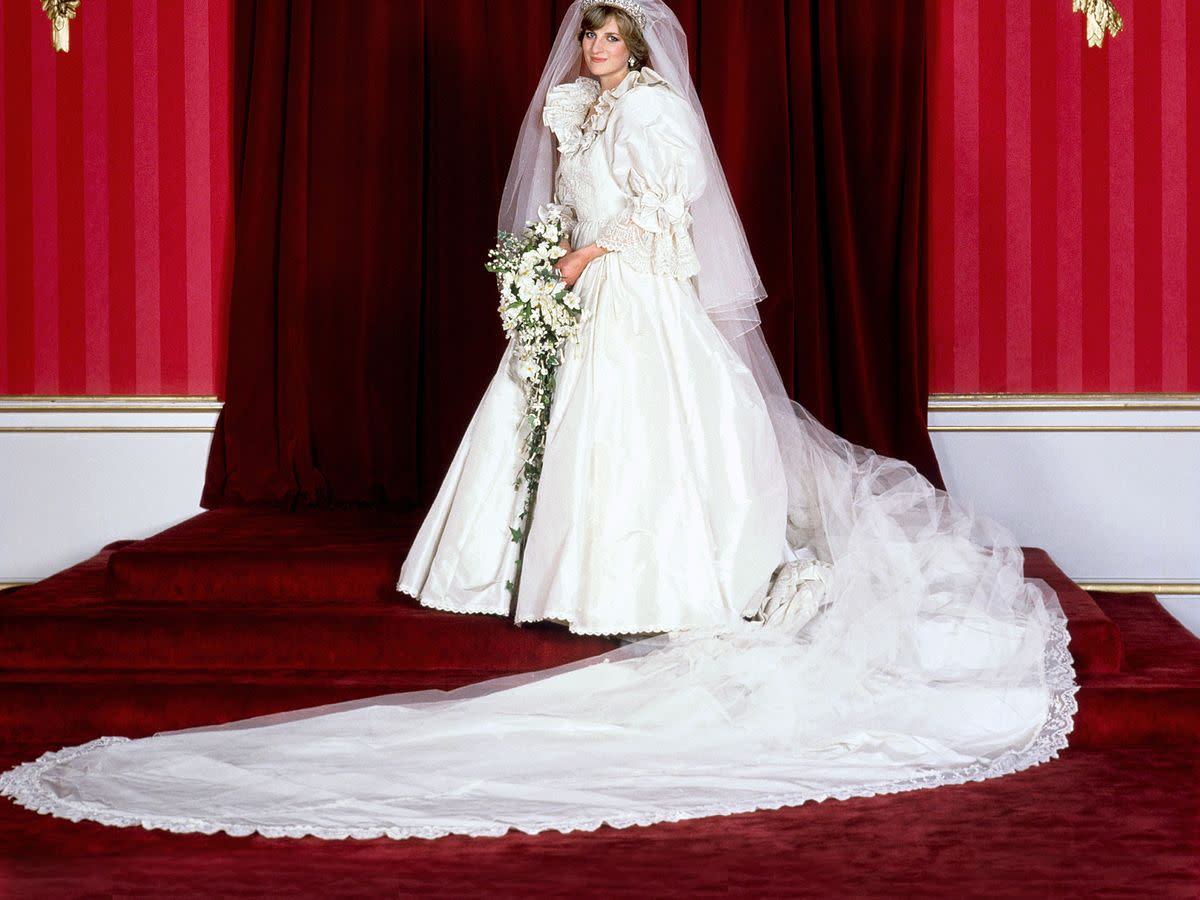 The famous dress from the royal wedding.