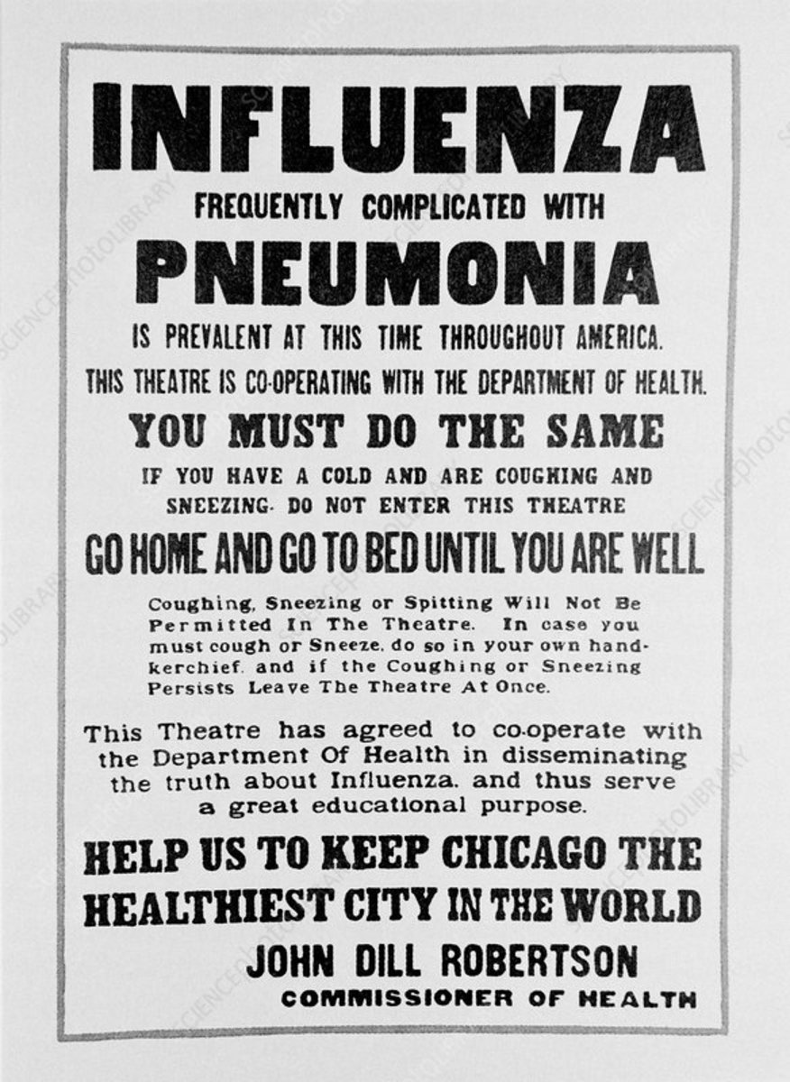 US Poster used during the pandemic