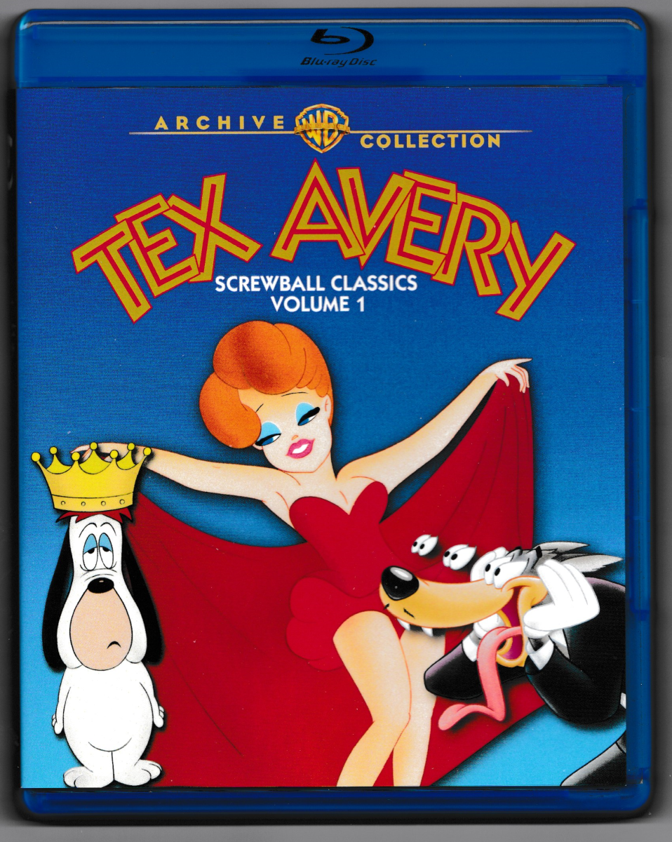 """Tex Avery Screwball Classics Volume 1"