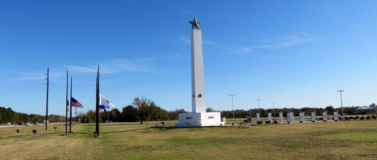 Freedom Park in Katy, Texas