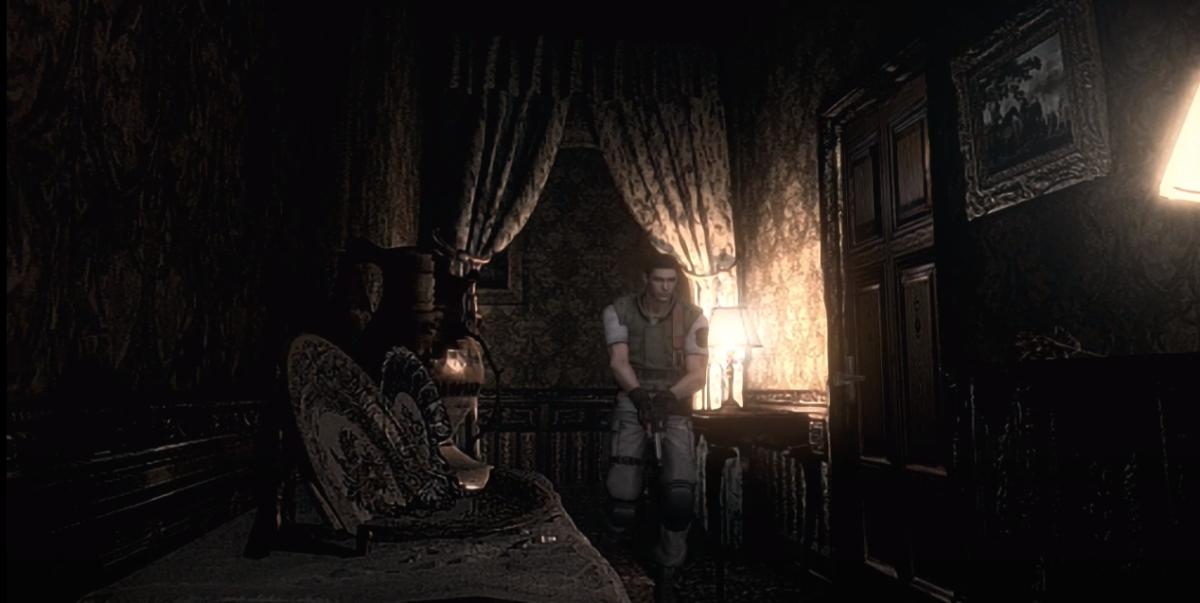 Chris Redfield in Resident Evil Remaster HD