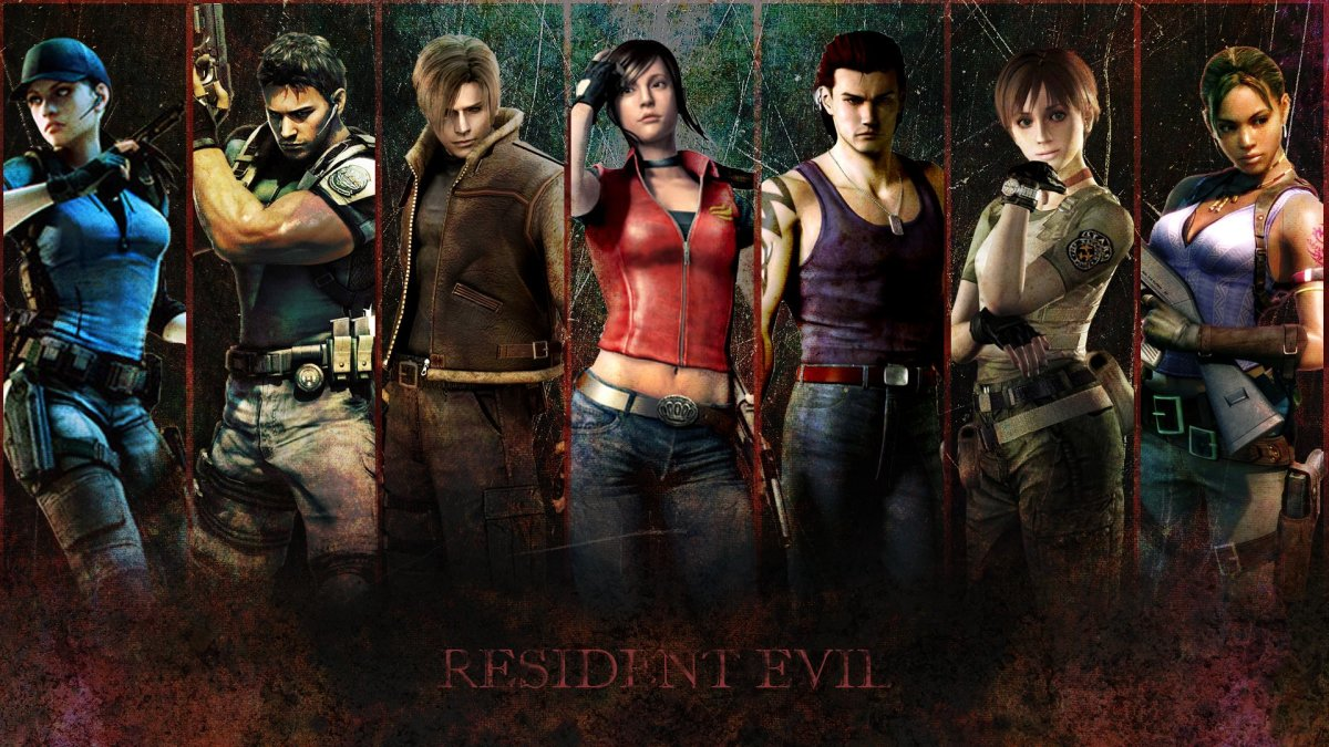 Top Resident Evil Video Game Characters