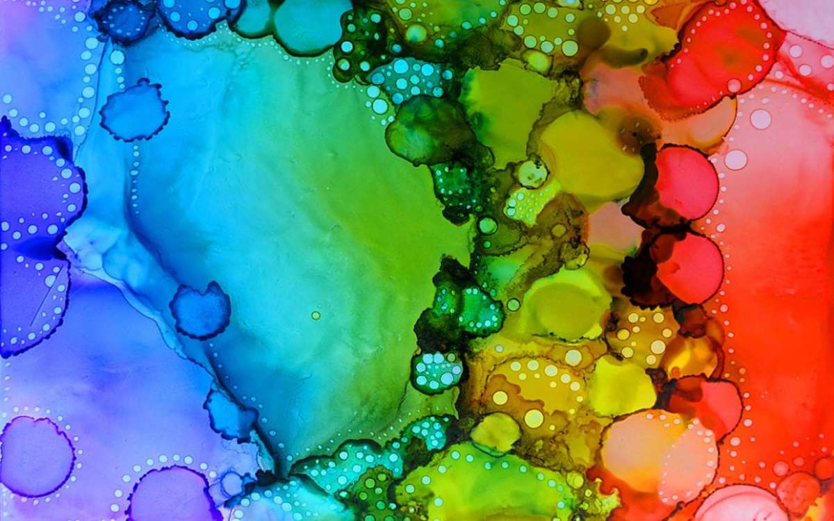 You can create beautiful art images with alcohol inks. These one of a kind art pieces can be created by begiiners too.