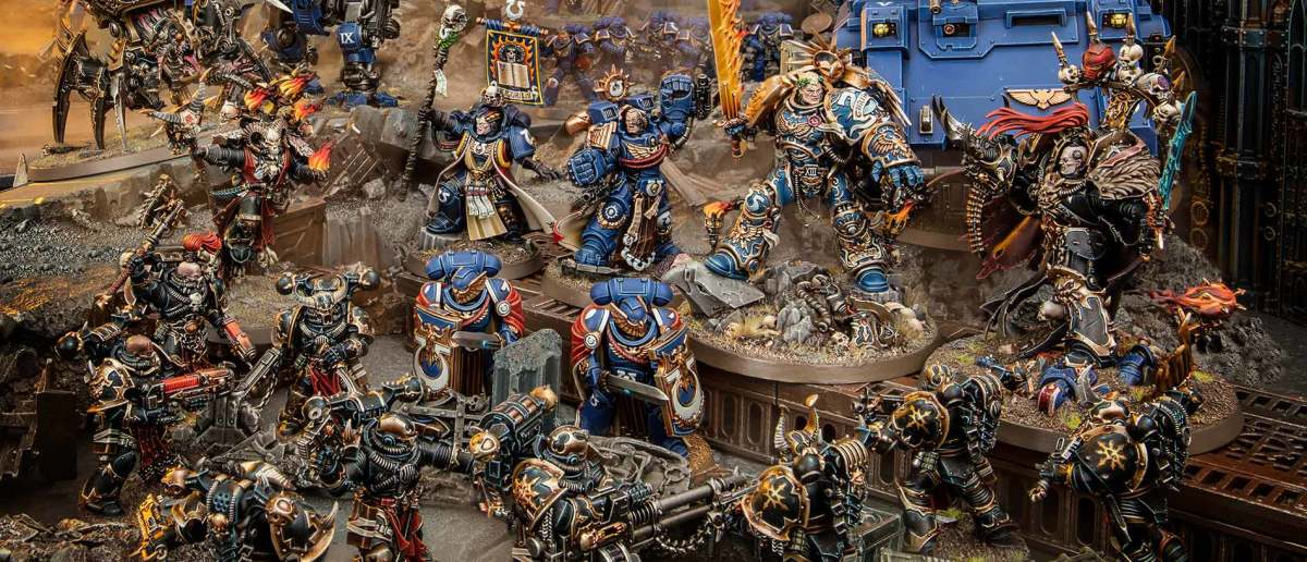 Miniature battles are so worth the time it takes to paint and assemble armies.