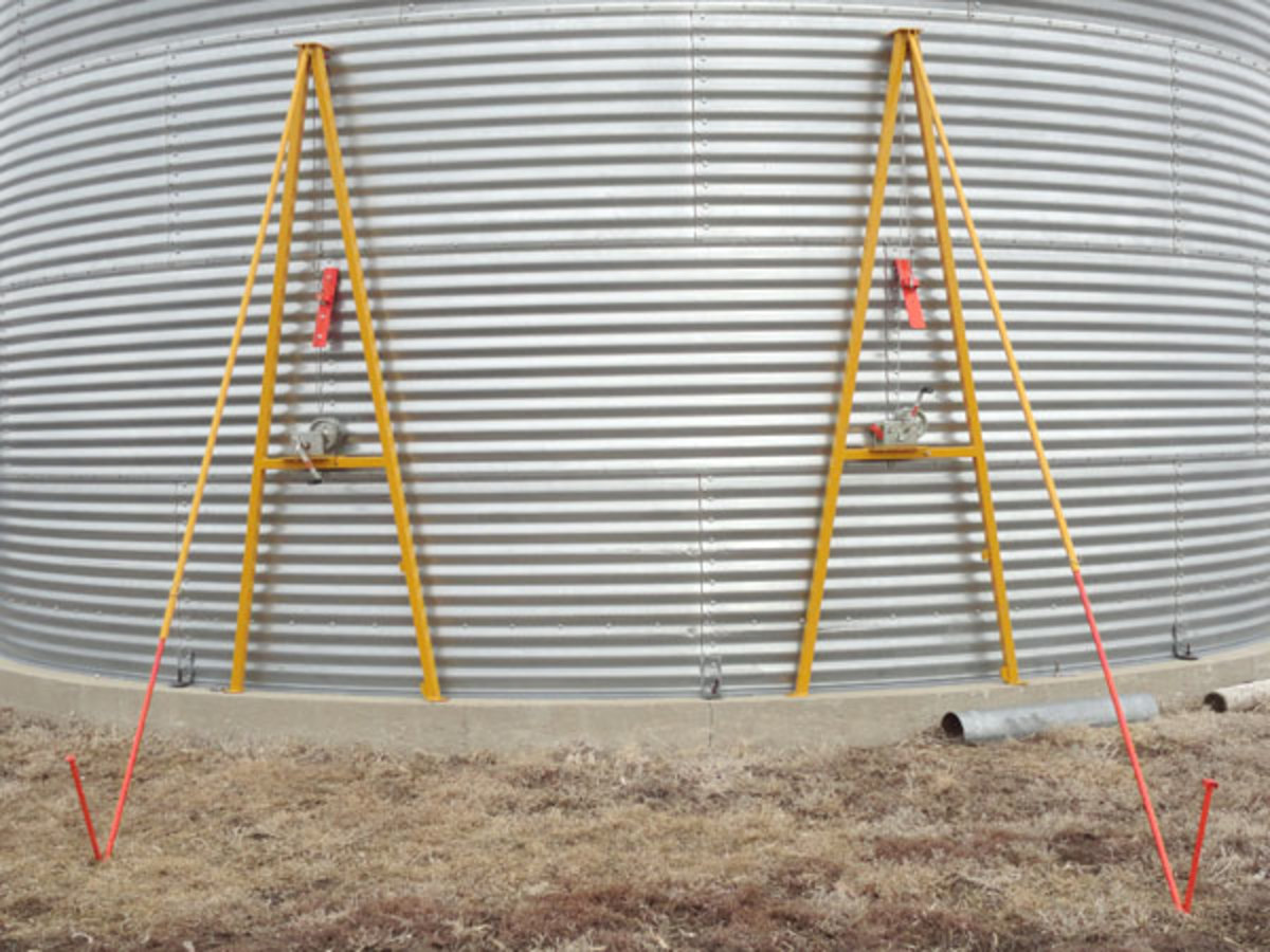 Grain Bin Jacks--What They Are, How to Use Them