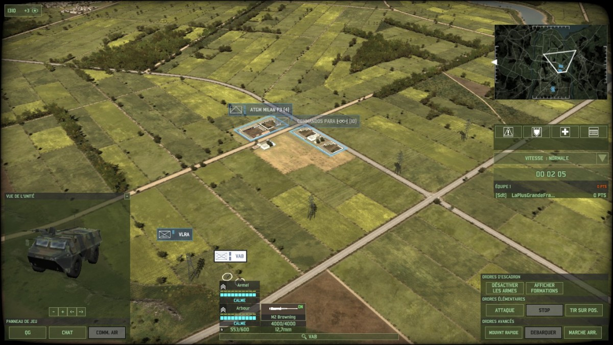 ATGMs in Golf's town can be a real headache when trying to move units around.