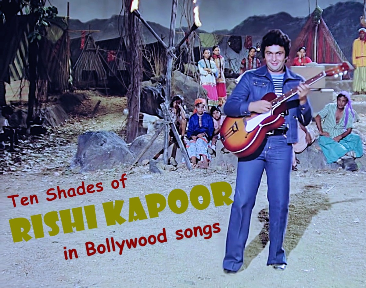 Ten Shades of Rishi Kapoor in Bollywood Songs